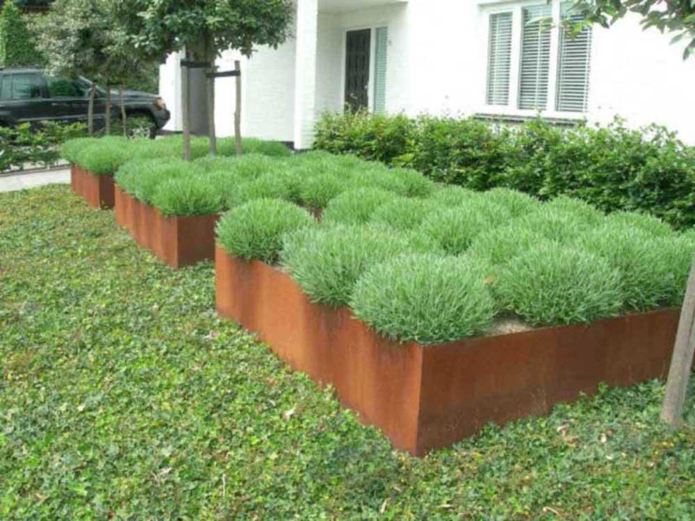 Pflanzeinfassung Vorgarten
