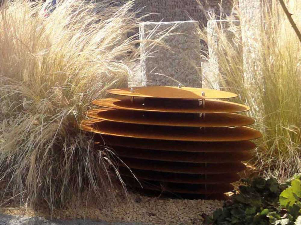 Licht- und Sound-Objekt in einem! Auf jeden Fall ein Highlight in Ihrem Garten