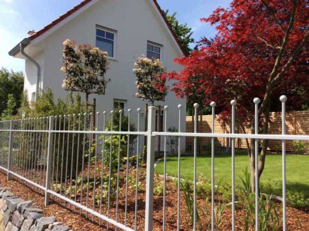 Zäune für Privathäuser