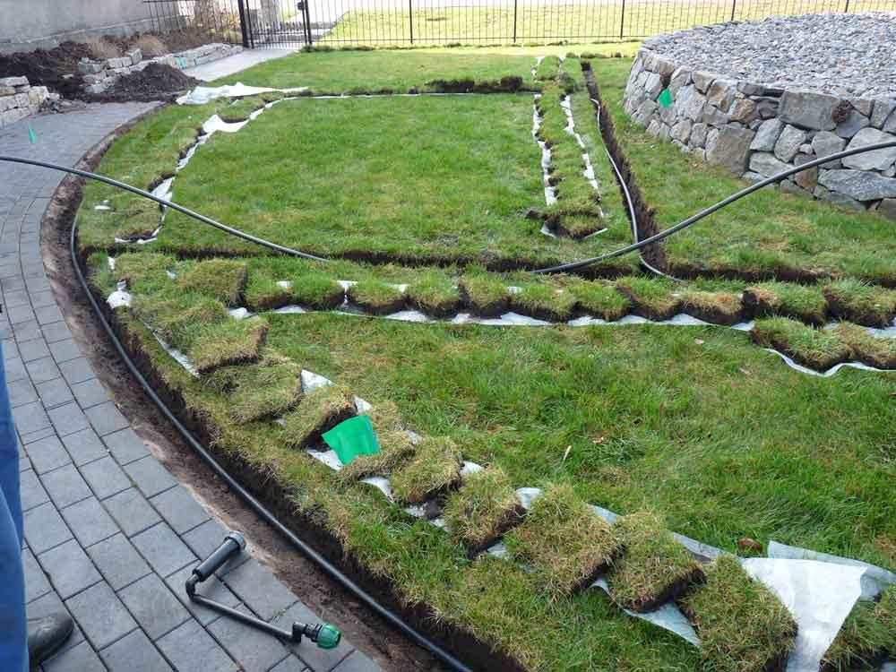 Eine Bewässerungsplanung sichert Ihnen einen reibungslosen Bauablauf.